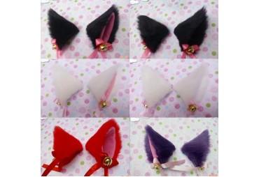 Ganchos orelhas de gato